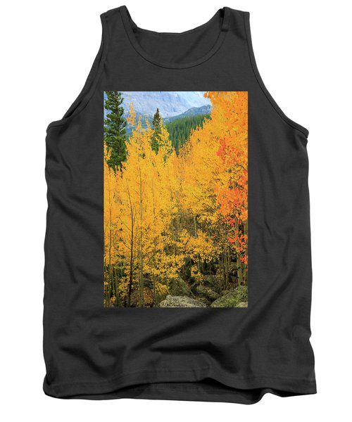 Tank Top featuring the photograph Pure Gold by David Chandler