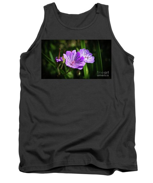 Purple Attraction Tank Top