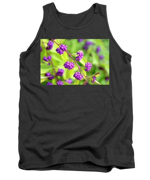 Purple Berries Tank Top