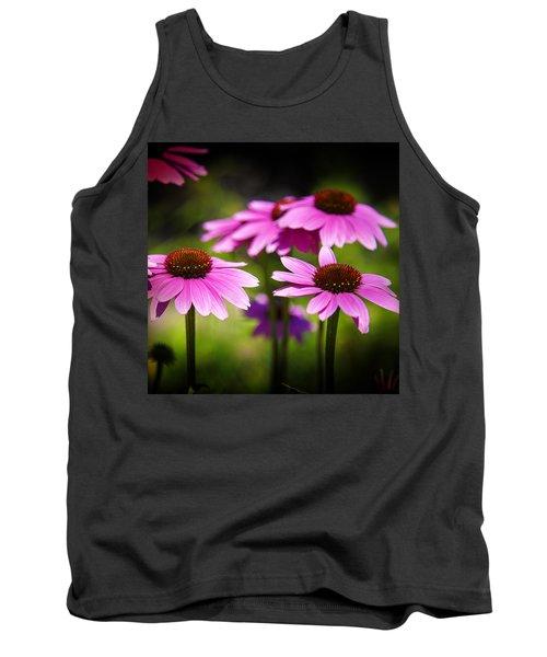 Purple Coneflowers Tank Top