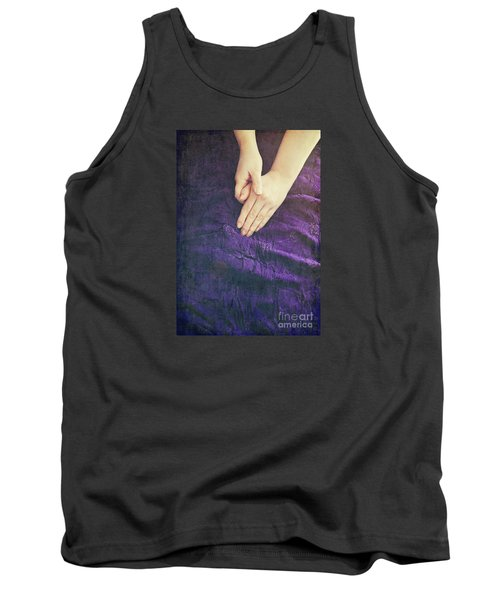 Purple Dress Tank Top by Lyn Randle