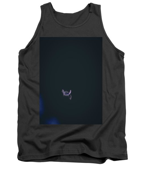 Tank Top featuring the photograph Purple Feather1 by Timothy Latta