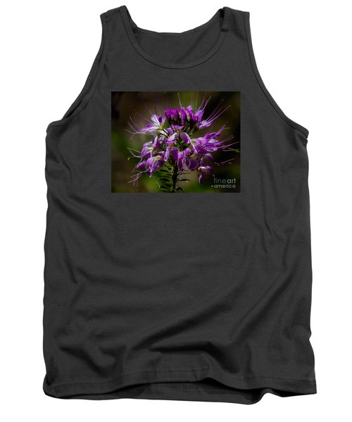 Purple Flower 1 Tank Top