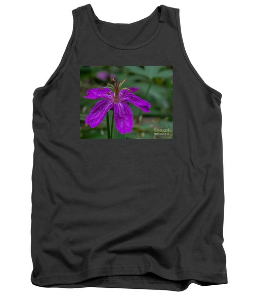 Purple Flower 5 Tank Top