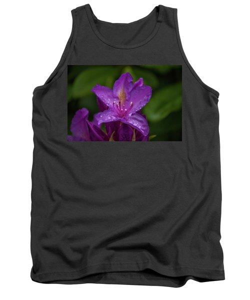 Purple Flower 7 Tank Top by Timothy Latta