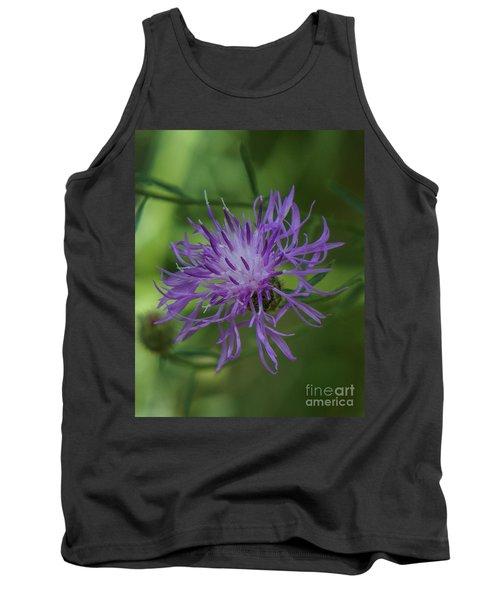 Purple Flower 8 Tank Top