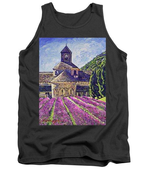 Purple Gardens Provence Tank Top