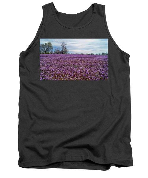 Tank Top featuring the photograph Purple Haze by Cricket Hackmann
