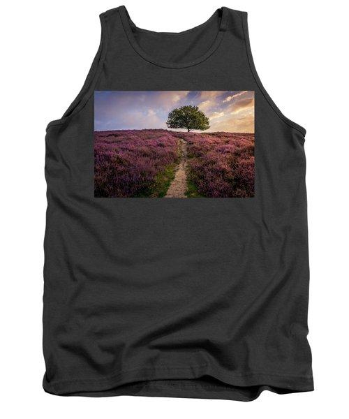 Purple Hill Tank Top