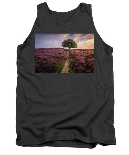 Purple Hill Tank Top