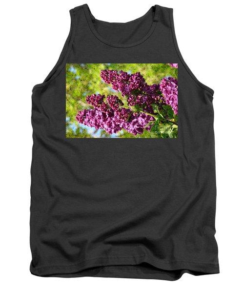Purple Lilac 1 Tank Top