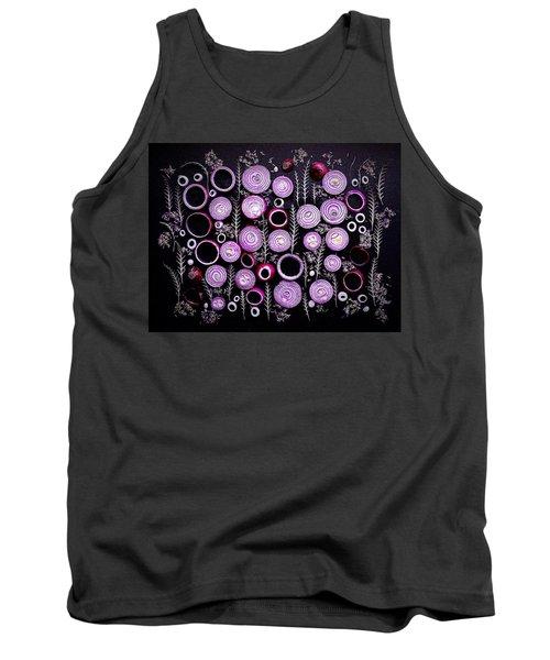 Purple Onion Patterns Tank Top