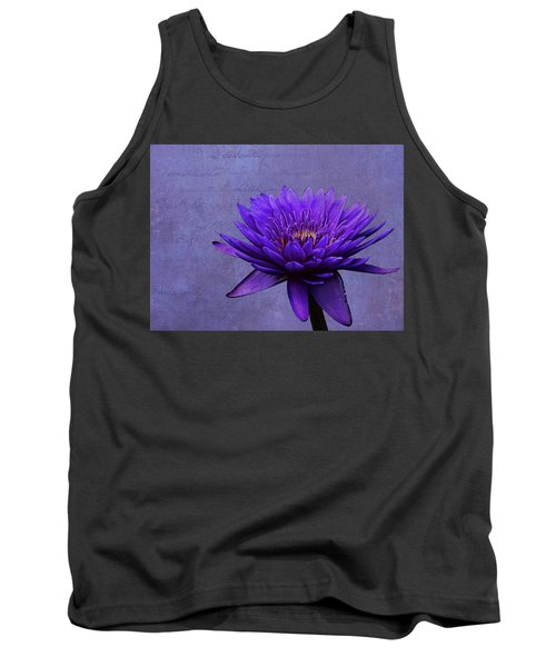 Tank Top featuring the photograph Purple Passion by Judy Vincent