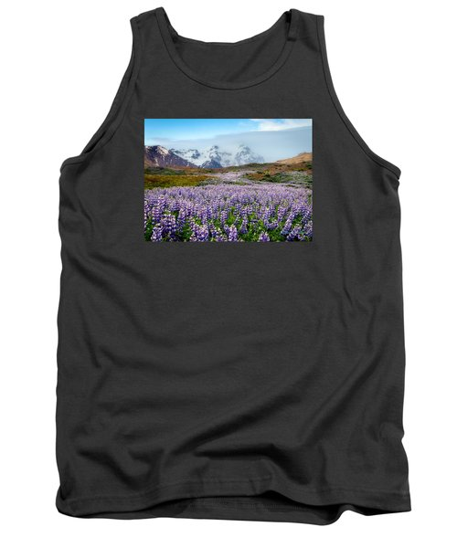 Purple Pathway Tank Top by William Beuther