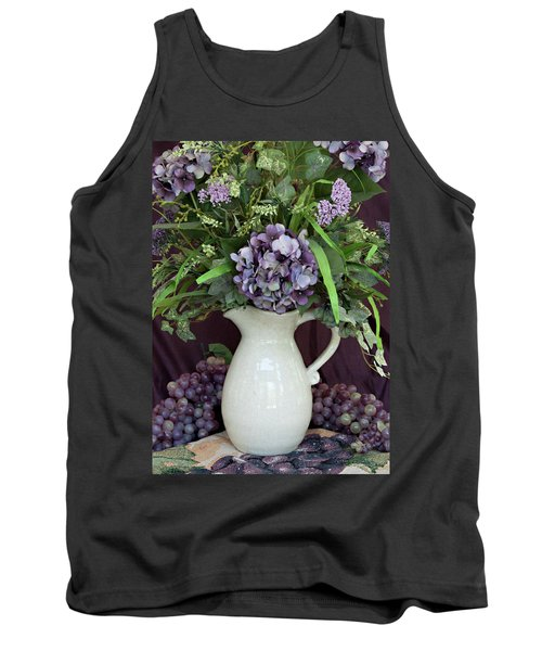 Tank Top featuring the photograph Purple Pleasures by Sherry Hallemeier