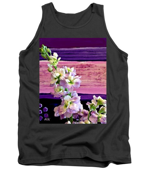 Tank Top featuring the photograph Purple Purple Everywhere by Marsha Heiken