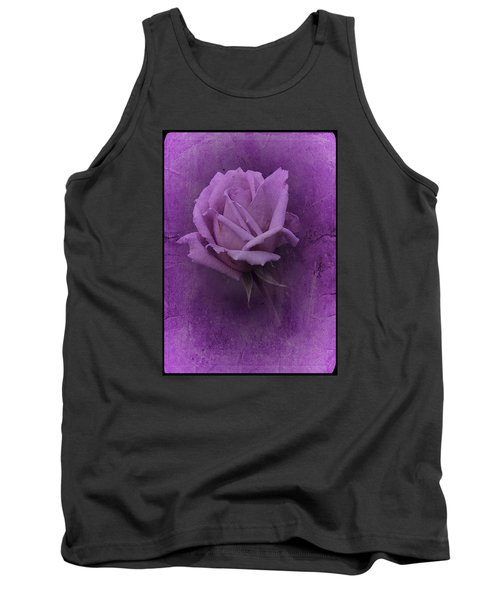 Purple Rose Of November No. 2 Tank Top by Richard Cummings