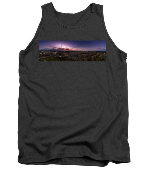 Purple Sunset Tank Top