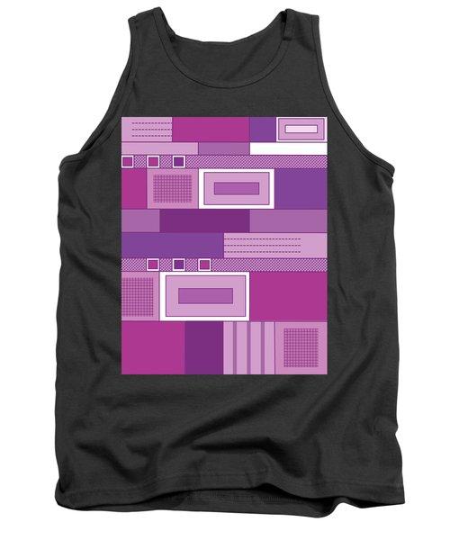 Purple Time Tank Top