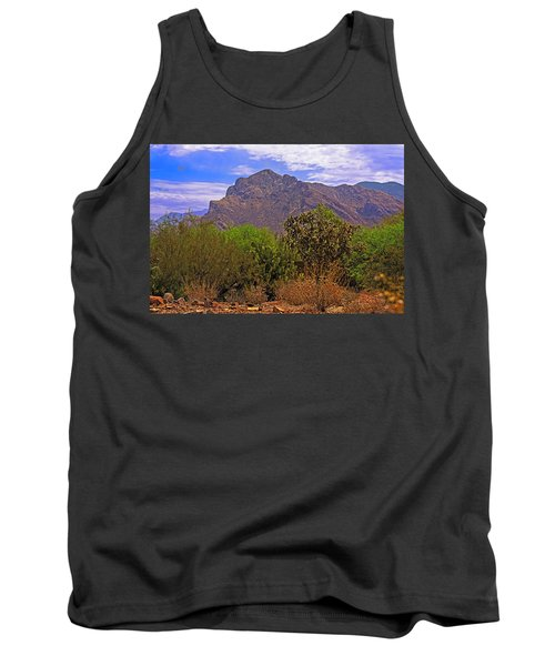 Tank Top featuring the photograph Pusch Ridge Morning H10 by Mark Myhaver
