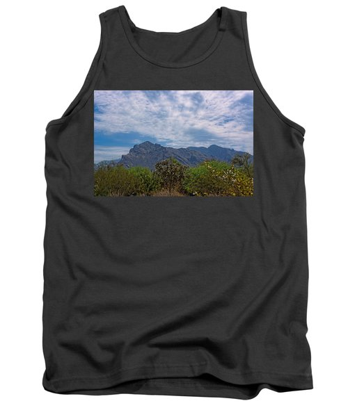 Tank Top featuring the photograph Pusch Ridge Morning H26 by Mark Myhaver