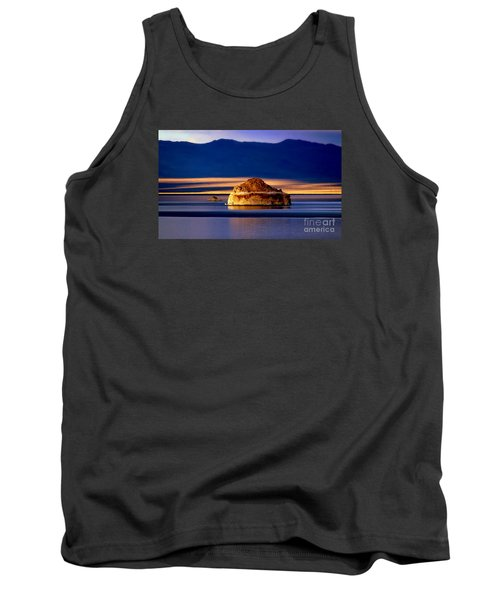 Tank Top featuring the photograph Pyramid Lake Nevada by Irina Hays