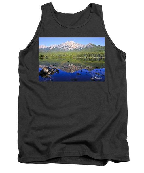 Pyramid Lake Reflection Tank Top