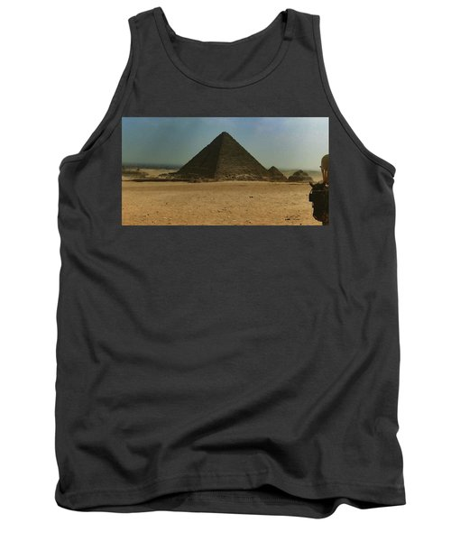 Pyramids Of Egypt Tank Top