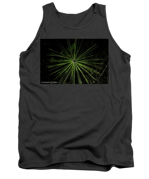Pyrotechnics Or Pine Needles Tank Top by Stefanie Silva