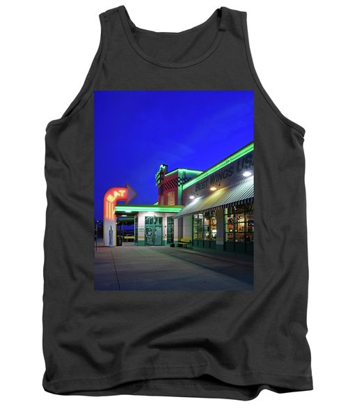 Tank Top featuring the photograph Quaker Steak And Lube by Christopher McKenzie