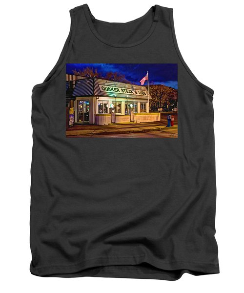 Quaker Steak And Lube Tank Top by Skip Tribby