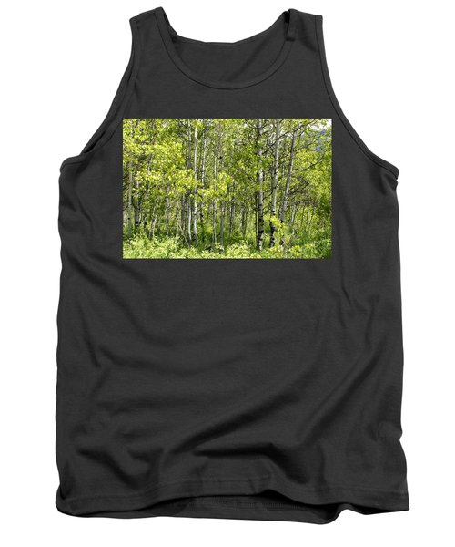 Tank Top featuring the photograph Quaking Aspens 2 by Cynthia Powell