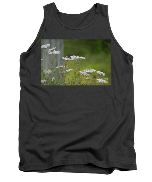 Queen Anne Lace Wildflowers Tank Top
