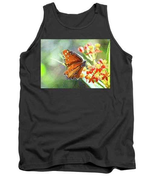 Queen Butterfly Tank Top by Inspirational Photo Creations Audrey Woods