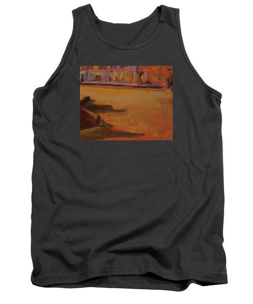 Tank Top featuring the painting Queen Emma Square Detail by Nop Briex