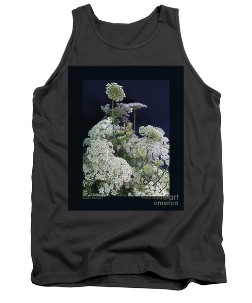 Tank Top featuring the photograph Queen's Bouquet-ii by Patricia Overmoyer