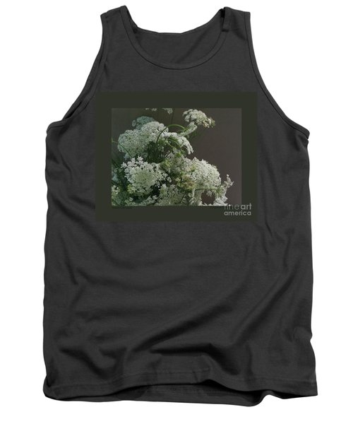 Tank Top featuring the photograph Queen's Bouquet by Patricia Overmoyer