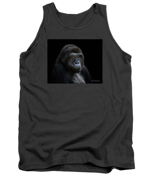 Quiet Moment Tank Top by CR  Courson