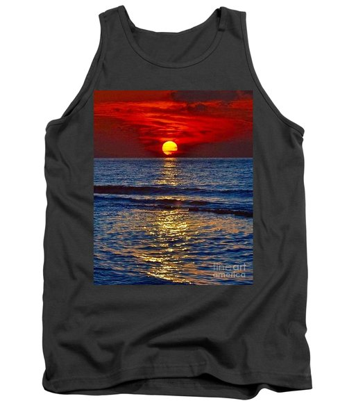 Quiet On The Ocean Tank Top