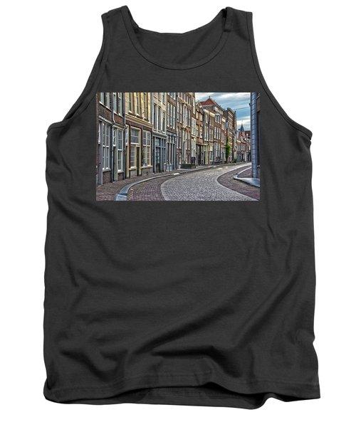 Quiet Street In Dordrecht Tank Top