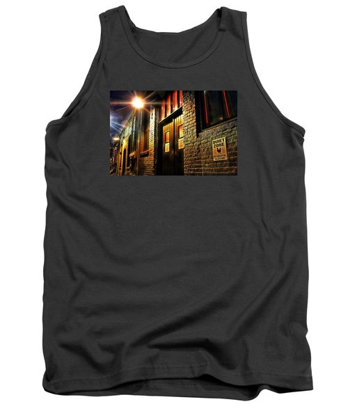 Tank Top featuring the photograph Quiet Zone by Jessica Brawley