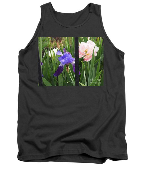 Tank Top featuring the photograph Quite The Pair by Nancy Kane Chapman