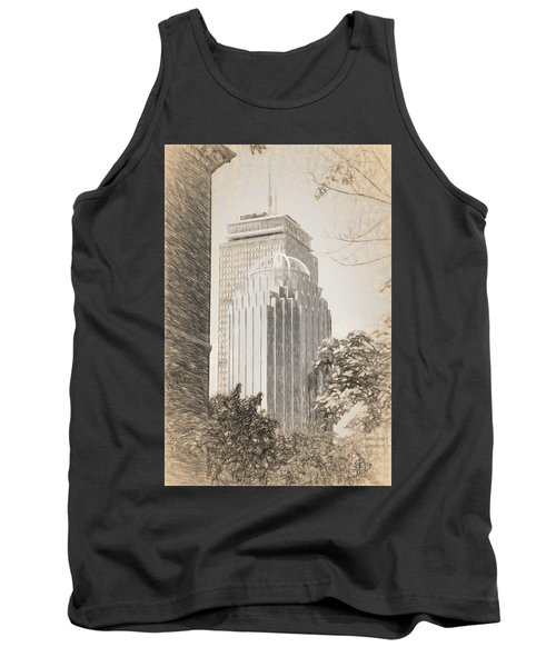R2d2 Building And The Prudential Center Tank Top