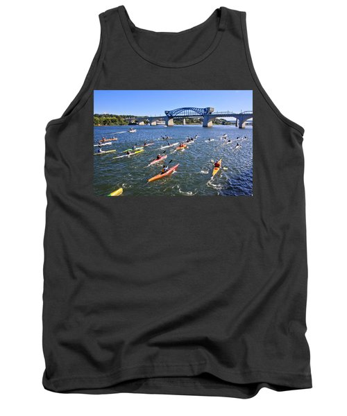 Race On The River Tank Top