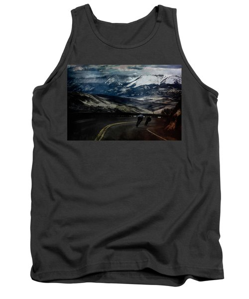 Race To The Finish Tank Top