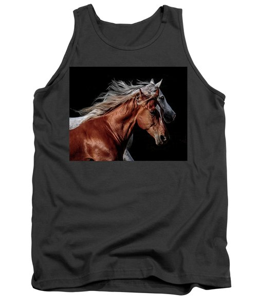 Racing With The Wind Tank Top