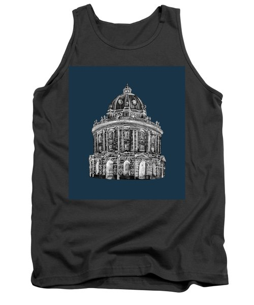 Tank Top featuring the digital art Radcliffe At Night by Elizabeth Lock
