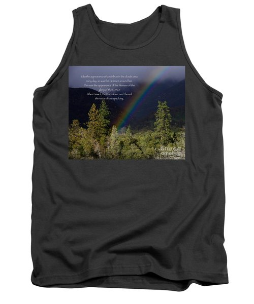 Tank Top featuring the photograph Radiance Of The Rainbow by Debby Pueschel
