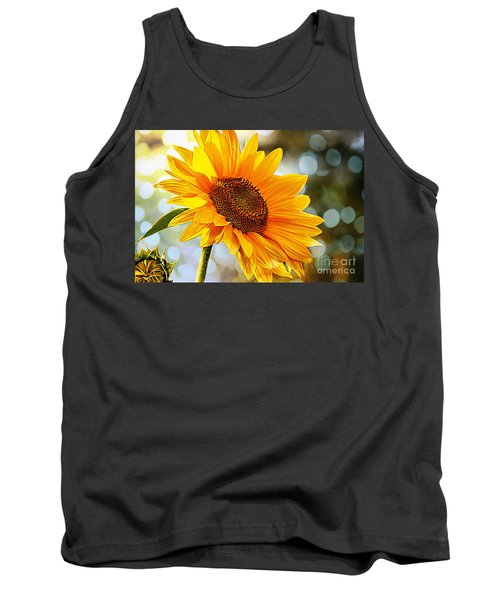 Radiant Yellow Sunflower Tank Top