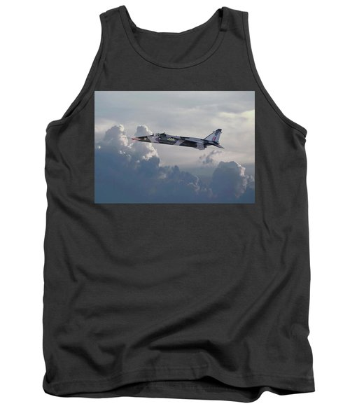 Tank Top featuring the photograph Raf Jaguar Gr1 by Pat Speirs